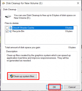 Clean Temporary Files In Windows 10